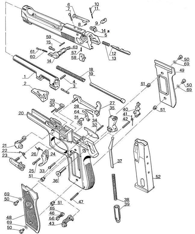 cds ehrenreich - ersatzteile - gun parts
