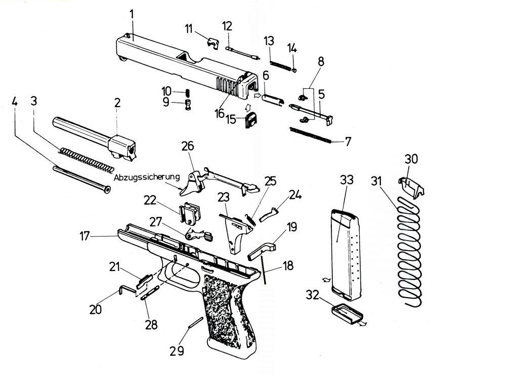 cds ersatzteile glock 17 Glock 26 vs explosionszeichnung bis zu 50 kb anklicken f r besseres bild bis zu 200