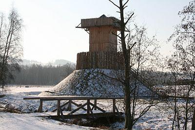 Resultado de imagen de Geschichtspark Bärnau-Tachov winter
