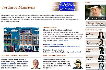 Corduroy Mansions - online novel at the Telegraph site